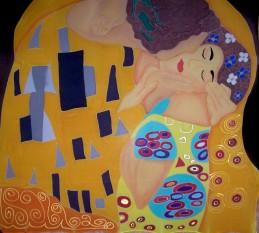 101c.Klimt-Beso