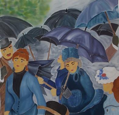 101c.Paraguas Renoir