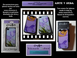 I-phone covers with arteyseda's scarves