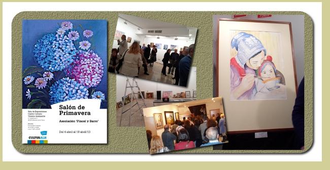 Arte y Seda on Pincel&Barro Spring exhibit