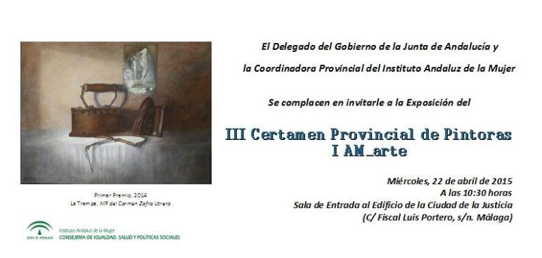 Invitación exposición IAM_Arte