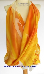 arte y seda fire tulip