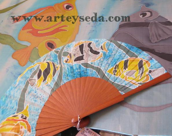 arte y seda's handpainted silk