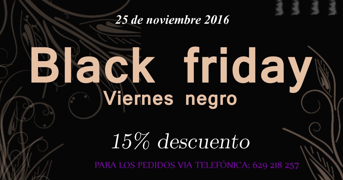 special discount by Black Friday (Arte y Seda)