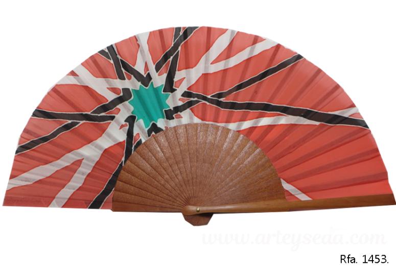 1454-abanico-Islamic(Coral)-2