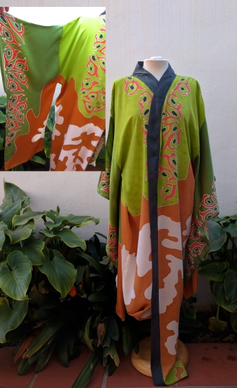 Silk Kimono: Africa