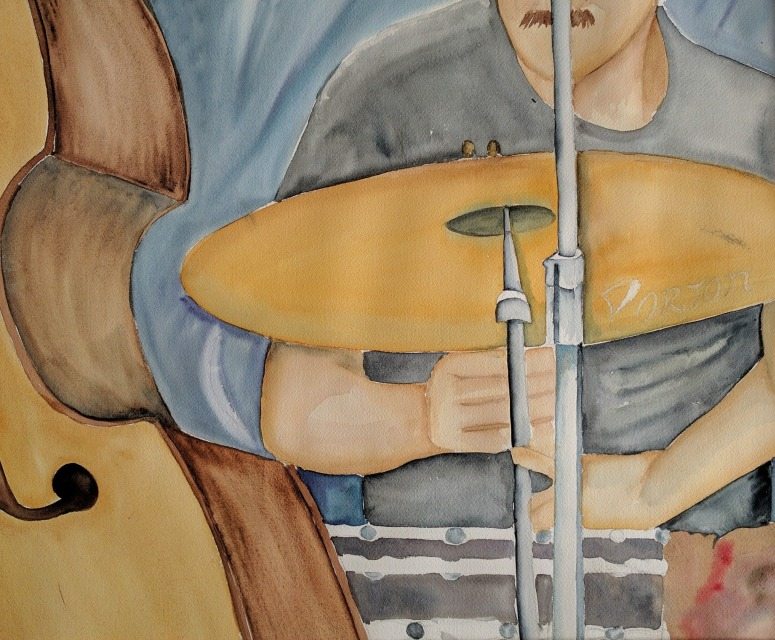 Angela García watercolor